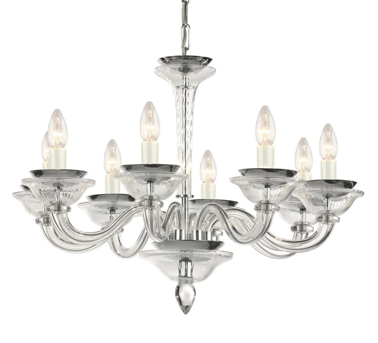 Traditional Chandelier Clear Crystal Traditional Chandelier Pertaining To Traditional Chandelier (Image 7 of 15)