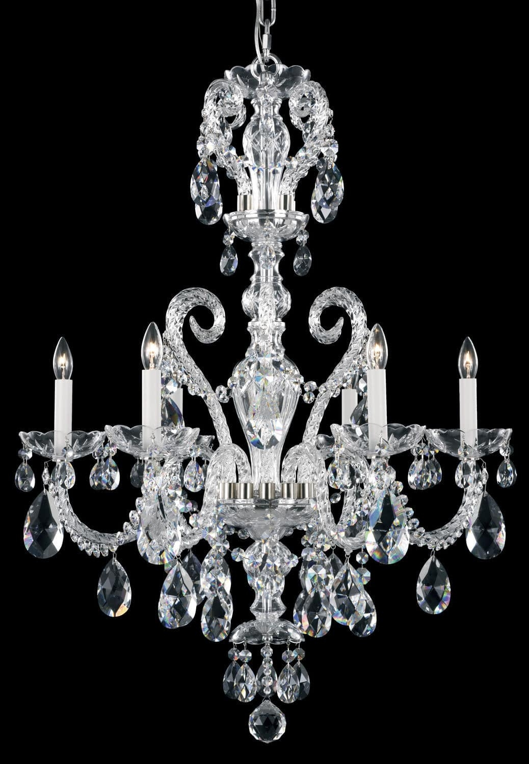 Traditional Chandelier Crystal Swarovski Crystal Regarding Traditional Crystal Chandeliers (Image 11 of 15)