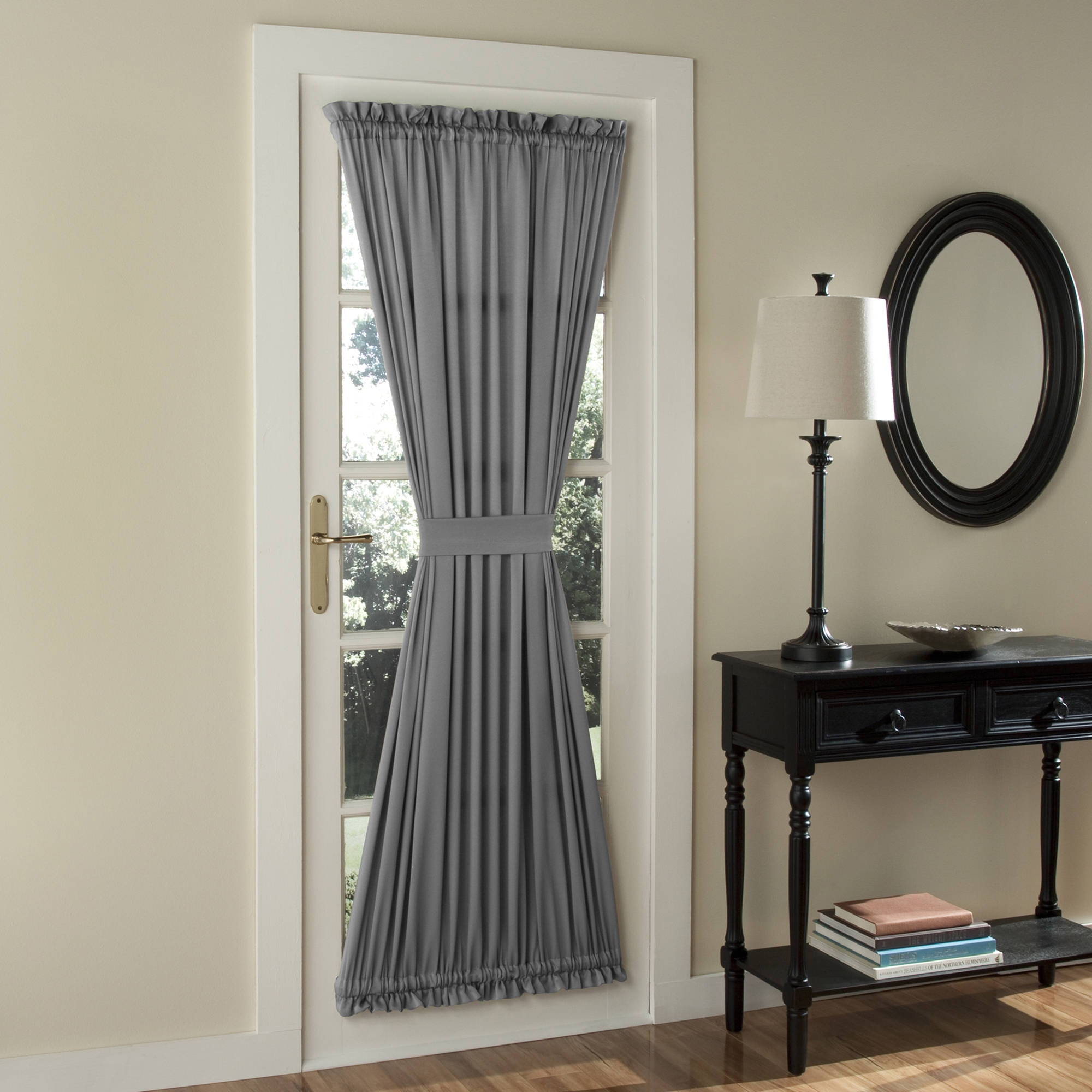 Tricia Door Panel Walmart In Single Curtains For Doors (Image 15 of 15)