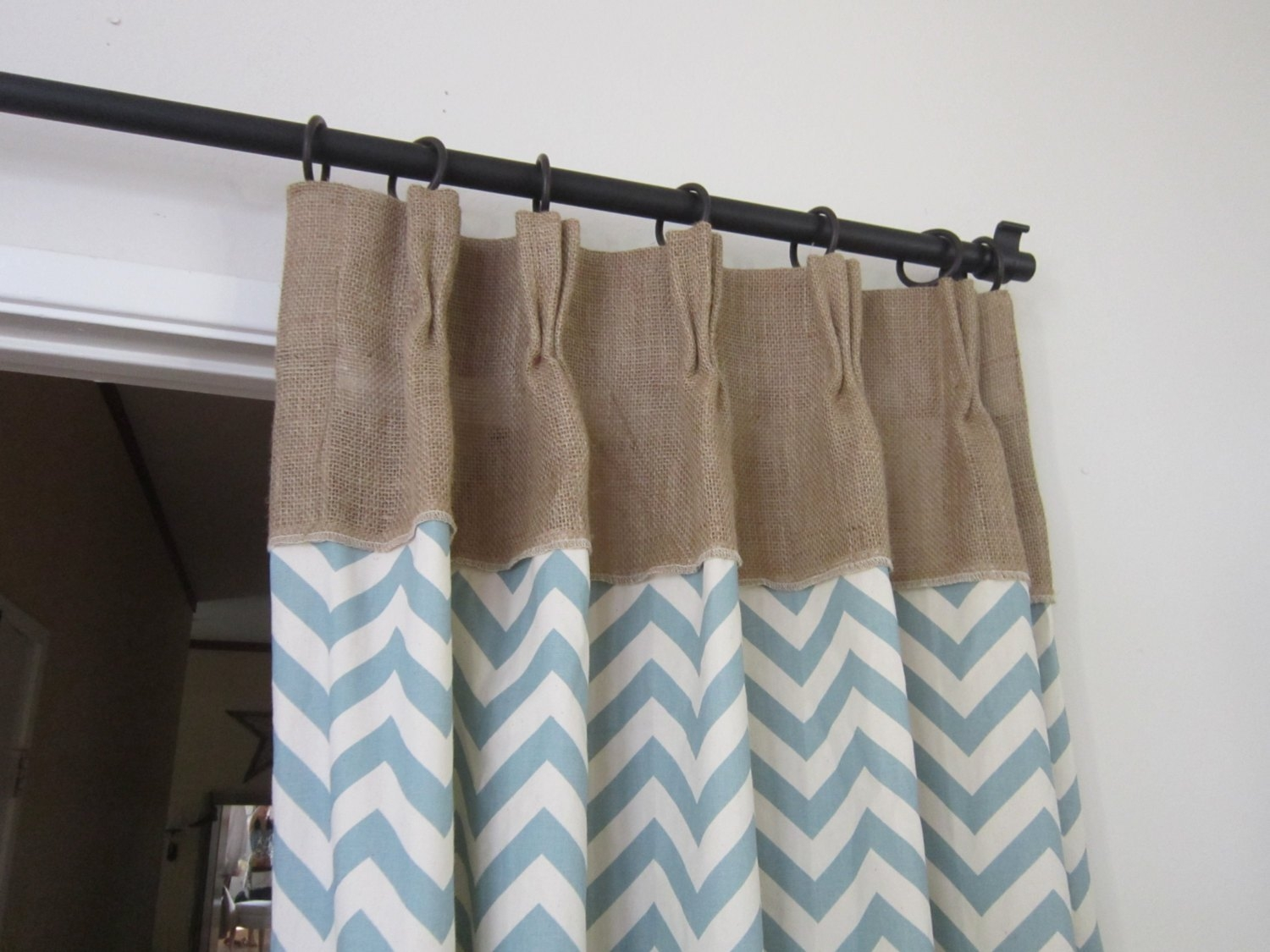 Featured Image of Turquoise Burlap Curtains