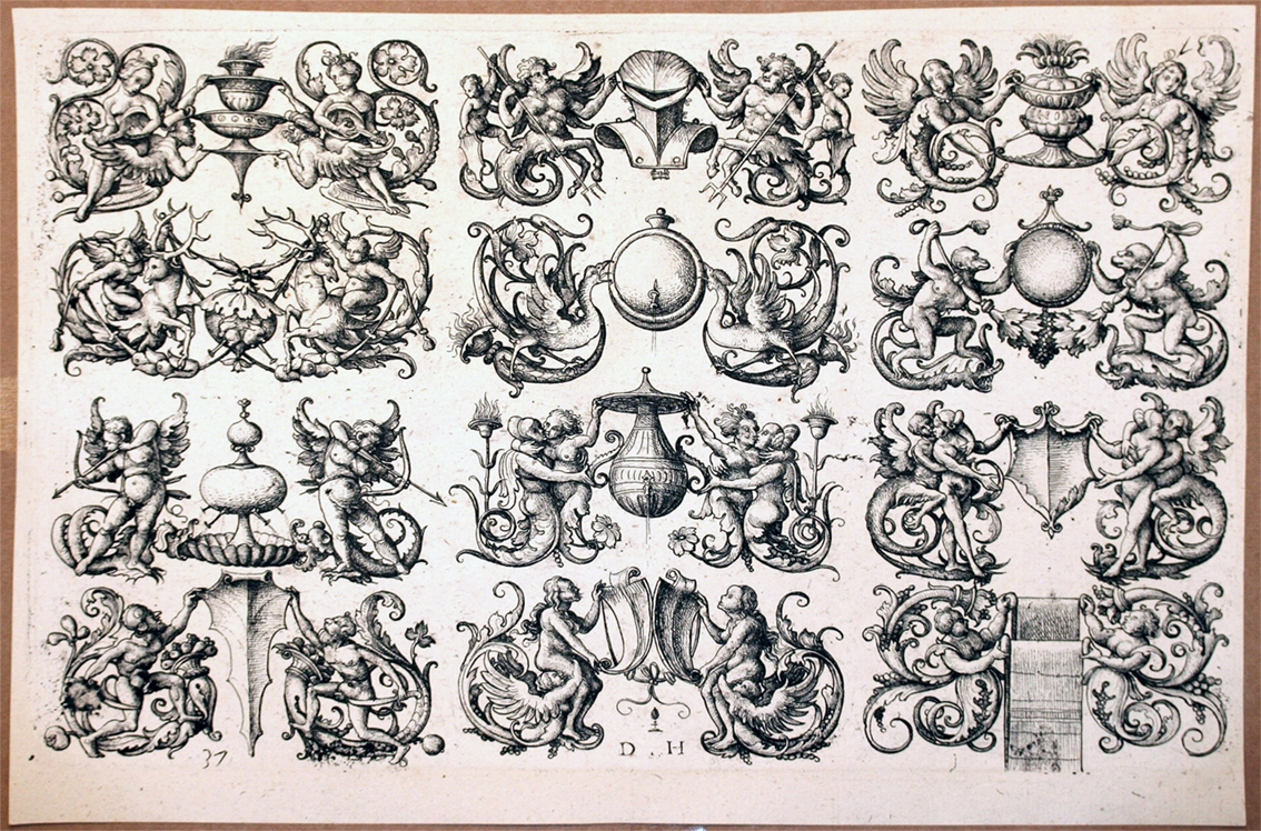 Twelve Ornamental Designs For Wash Basin Tops Mirrors Etc Types For Ornamental Mirrors (Image 12 of 15)