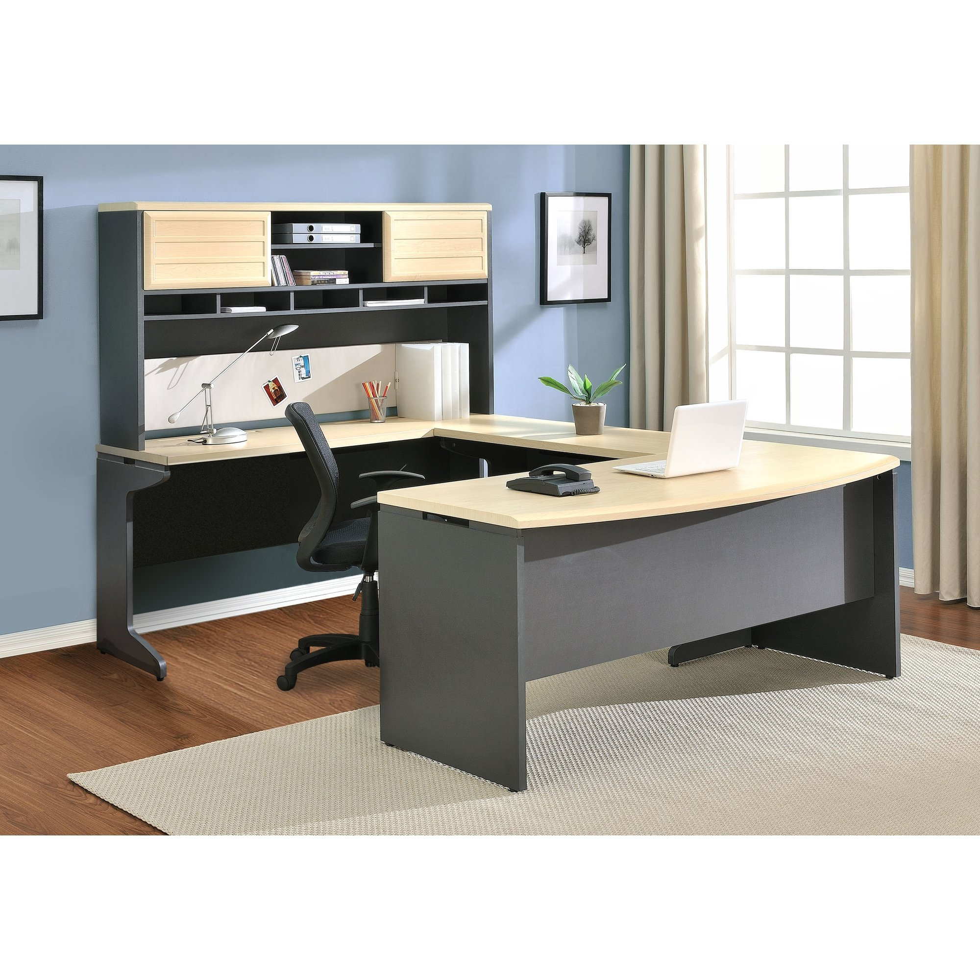 U Shaped Desks Youll Love Wayfair With C Shaped Sofas (Image 14 of 15)