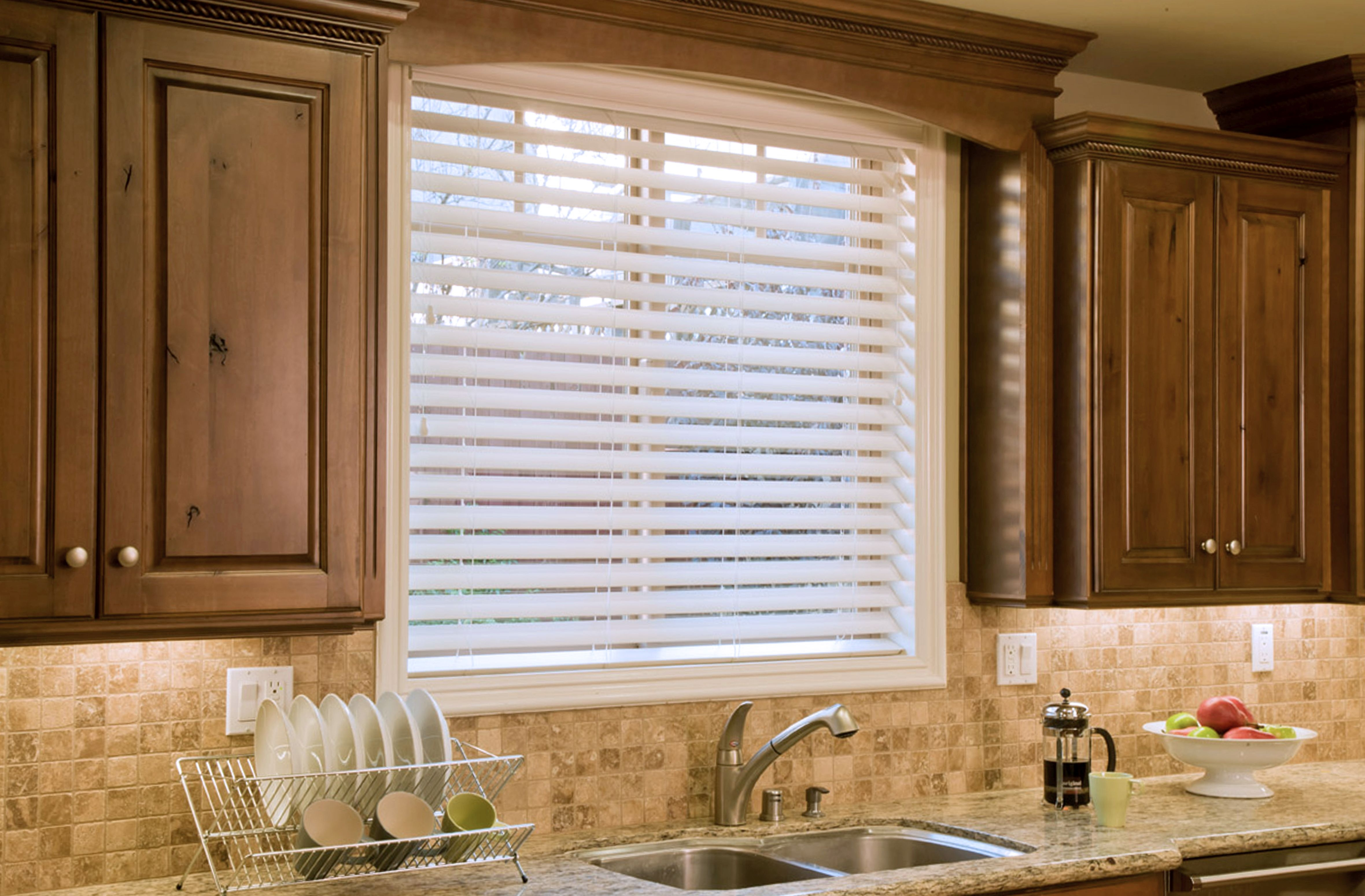 Ultimate 2 12 Faux Wood Blinds Fauxwood Blinds Blinds Within Front Room Blinds (Image 14 of 15)