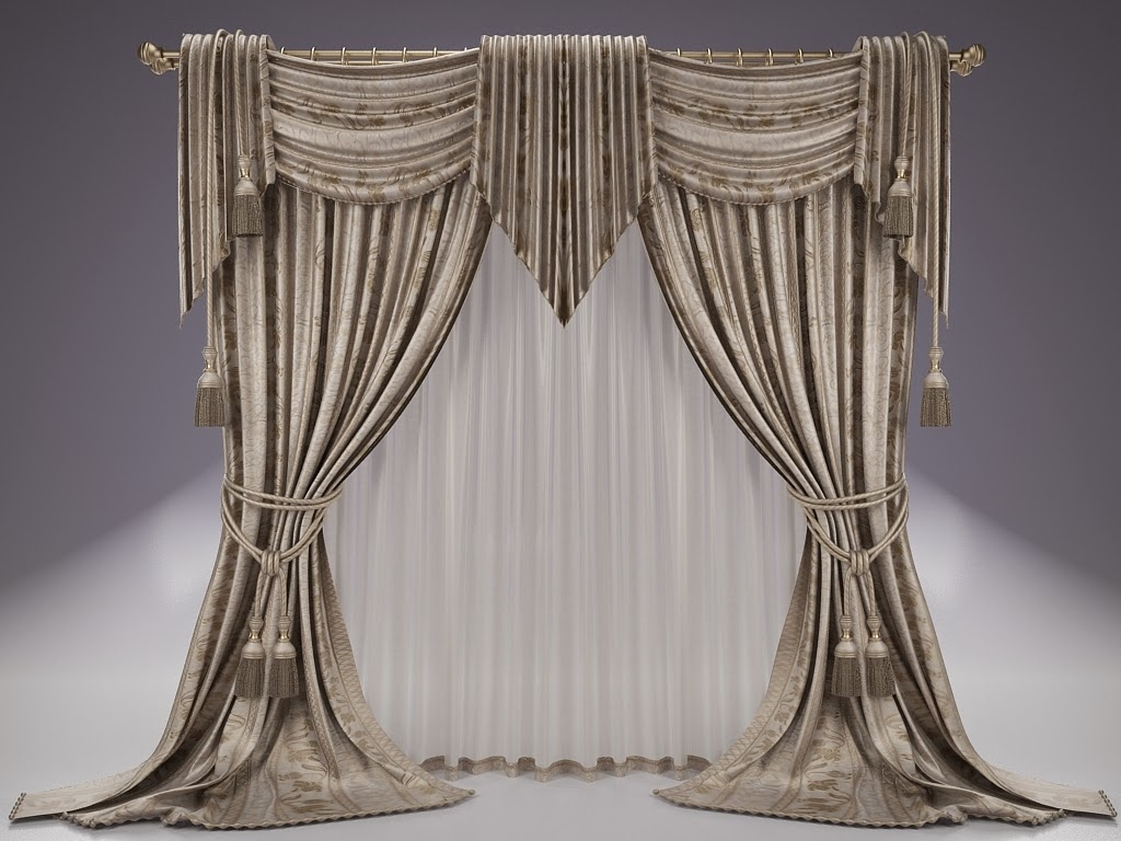 Unique Drapes Curtain Design Elaborate Window Treatments N Pertaining To Moroccan Style Drapes (Photo 11 of 15)