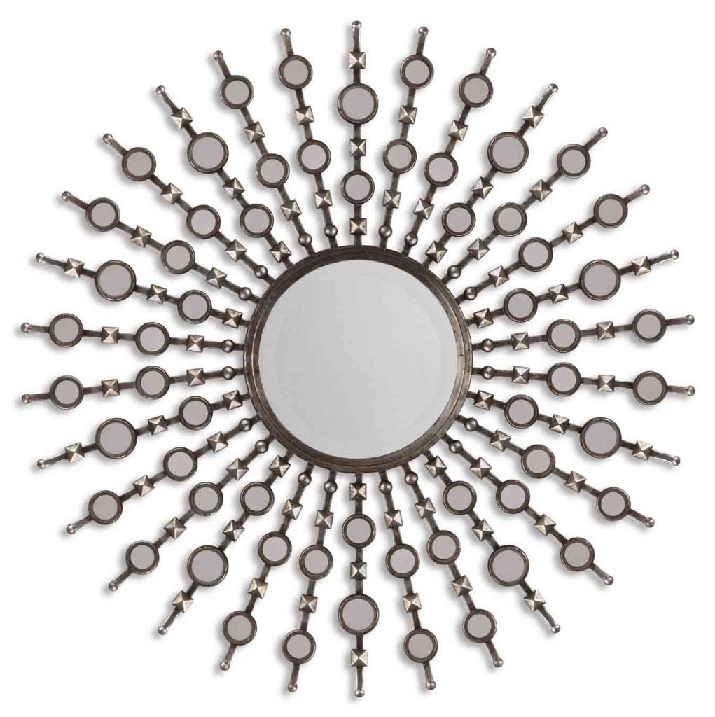 Unique Starburst Mirror For Your Remodel Bedroom Decor Ideas Throughout Round Large Mirrors (Photo 15 of 15)