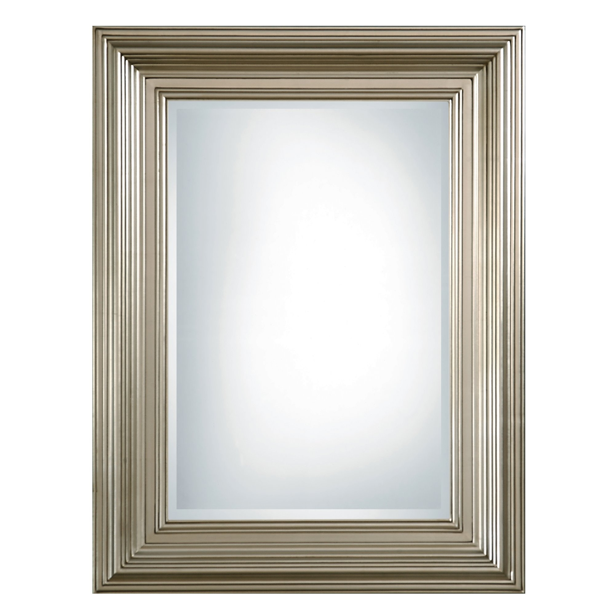 Uttermost Mario Rectangular Beveled Mirror Reviews Wayfair Regarding Bevel Mirror (Photo 12 of 15)