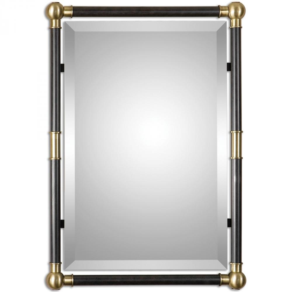 Uttermost Rondure Bronze Metal Wall Mirror 01131 Lighting Depot Throughout Bronze Wall Mirrors (Image 14 of 15)