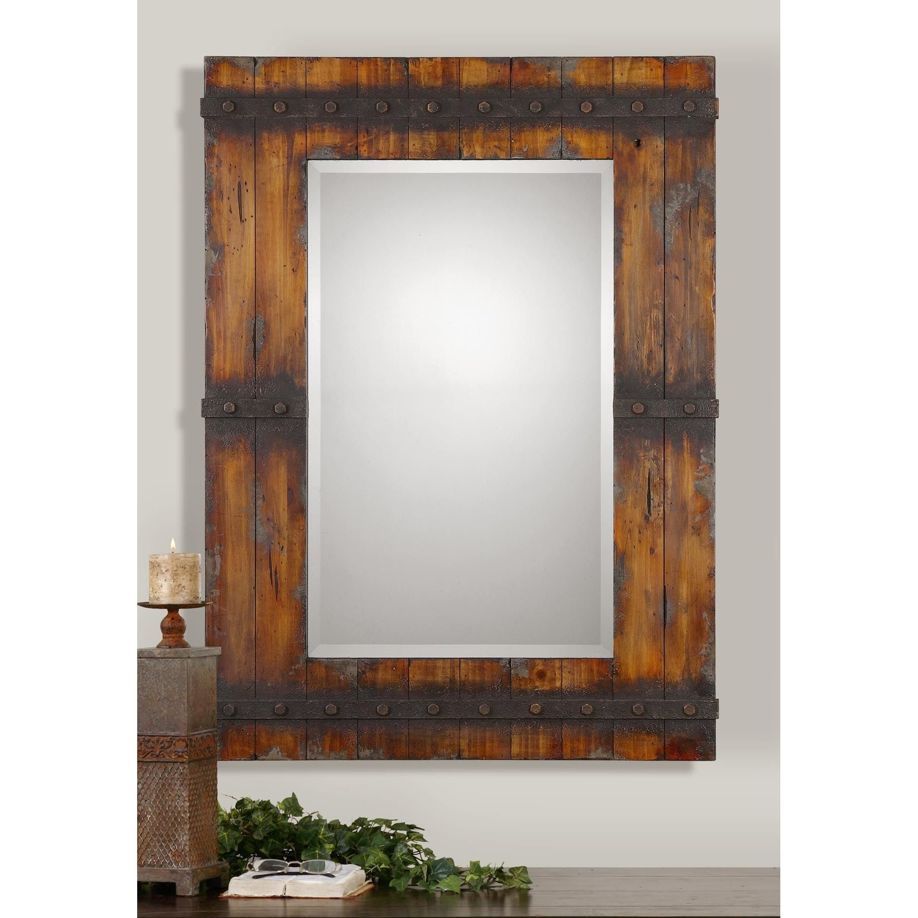 Uttermost Stockley Wall Mirror Reviews Wayfair Pertaining To Landscape Wall Mirror (View 5 of 15)