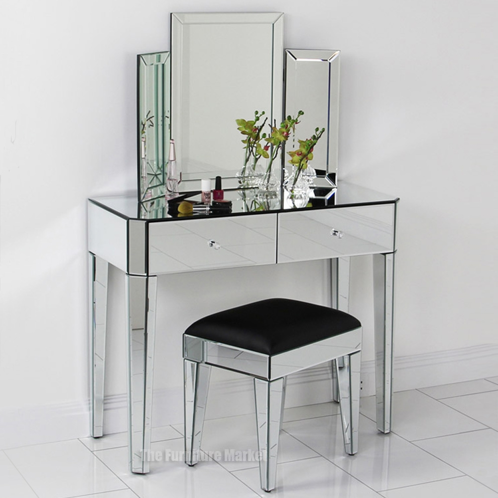 Featured Image of Art Deco Mirrored Dressing Table