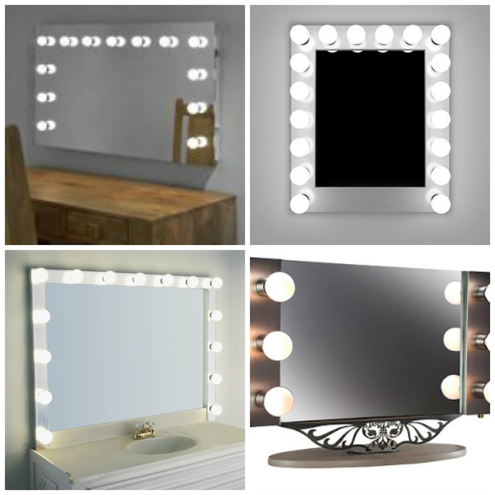 Vanity Mirror Table With Lights Harpsoundsco With Regard To Illuminated Dressing Table Mirrors (Image 14 of 15)