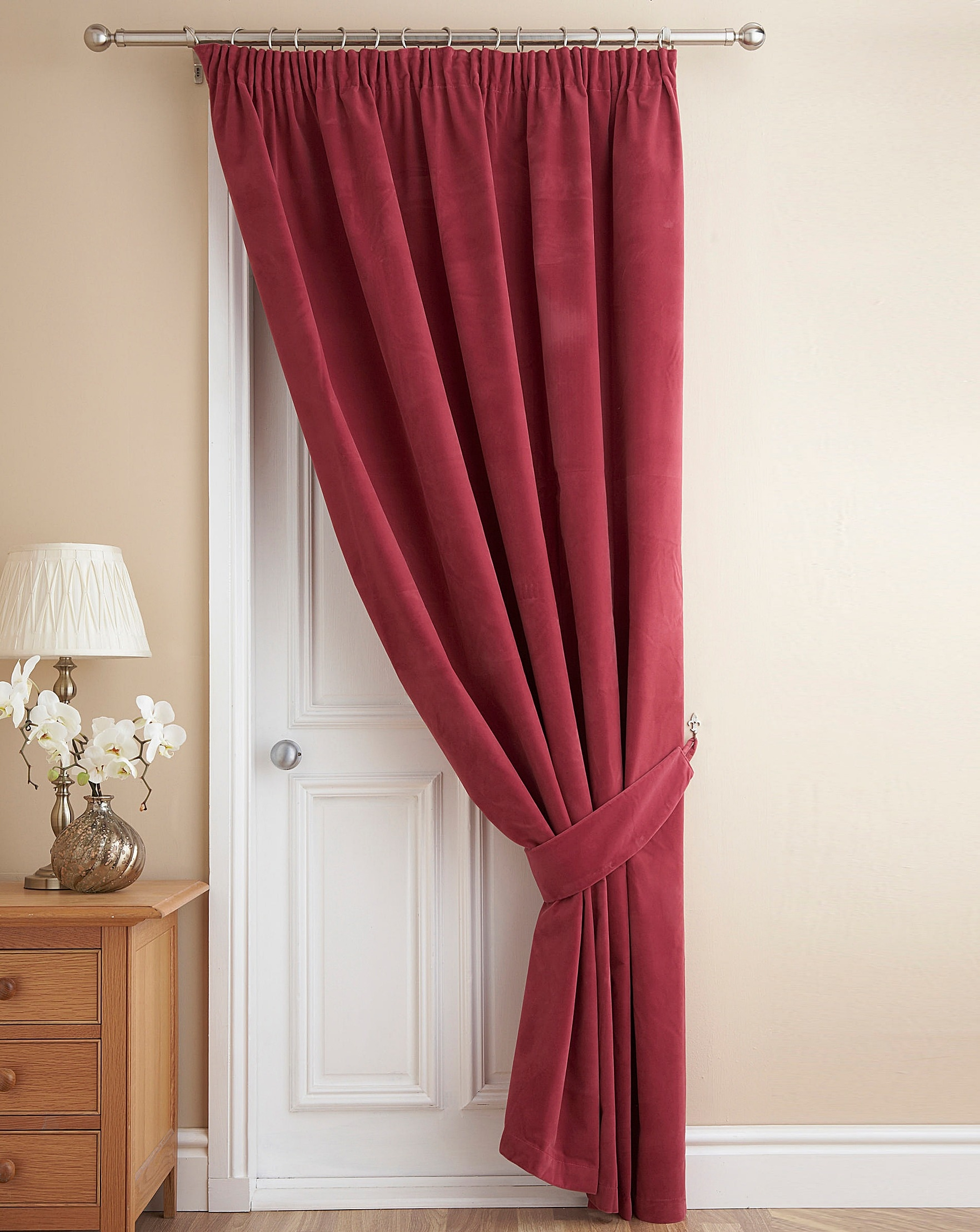 Velour Door Curtain Home Beauty Gift Shop For Velvet Door Curtain (Image 12 of 15)