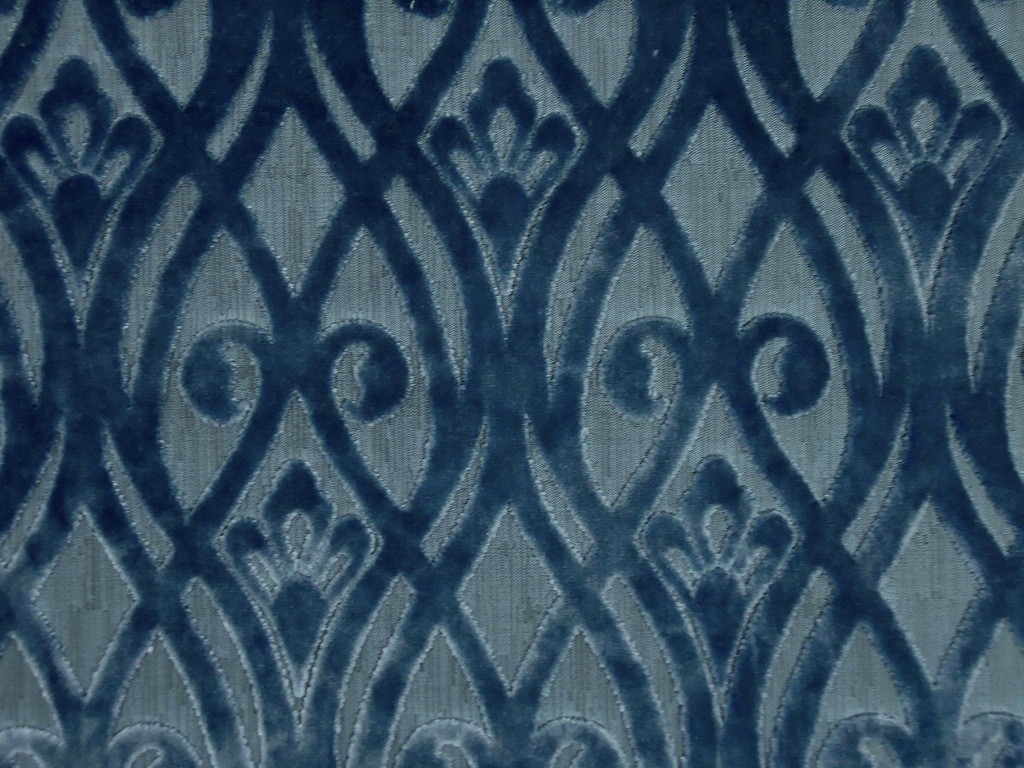 Velvet Upholstery Fabric Blue Velvet Fabric Upholstery Curtain Pertaining To Velvet Material For Curtains (Image 15 of 15)