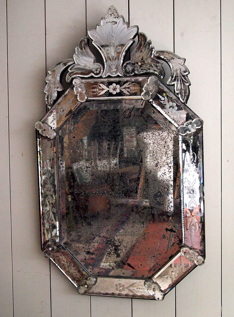 Venetian Antique Mirror Best Antique 2017 With Antique Venetian Mirror (Image 13 of 15)
