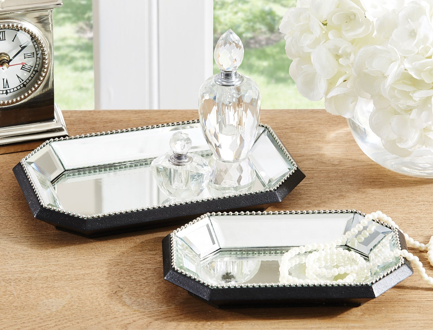 Venetian Beaded Mirror Trays Pertaining To Venetian Beaded Mirrors (Image 11 of 15)