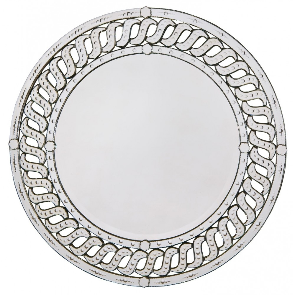 Venetian Heart Shaped Clear Table Mirror With Bevelled And Etched Intended For Venetian Heart Mirror (Image 13 of 15)