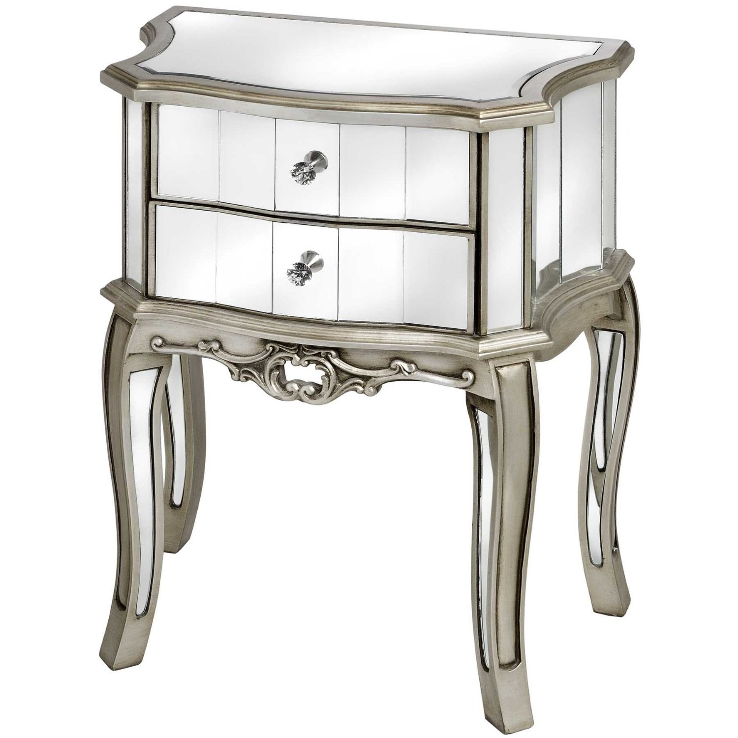 Venetian Mirrored Bedroom Furniture Raya Furniture Pertaining To Venetian Mirror Table (Image 12 of 15)