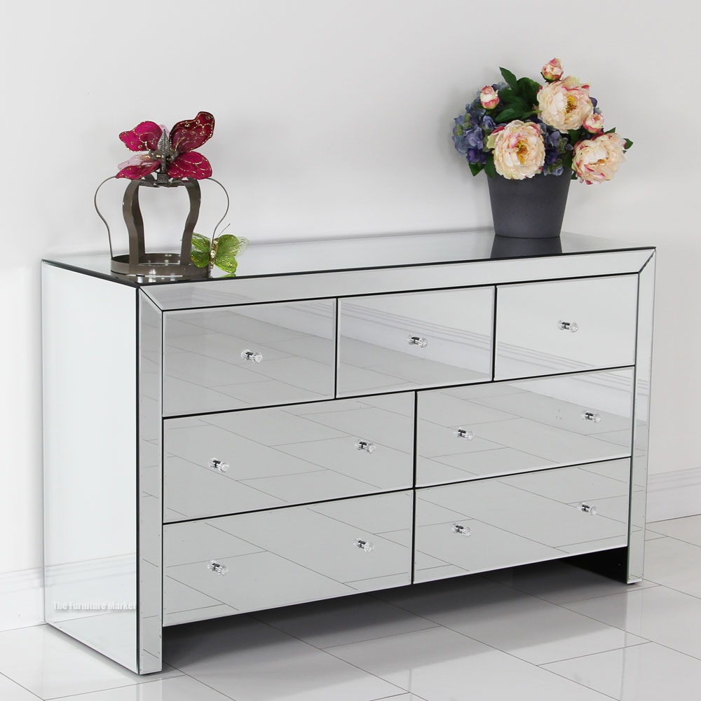 Top 15 Venetian Mirrored Chest Of Drawers Mirror Ideas