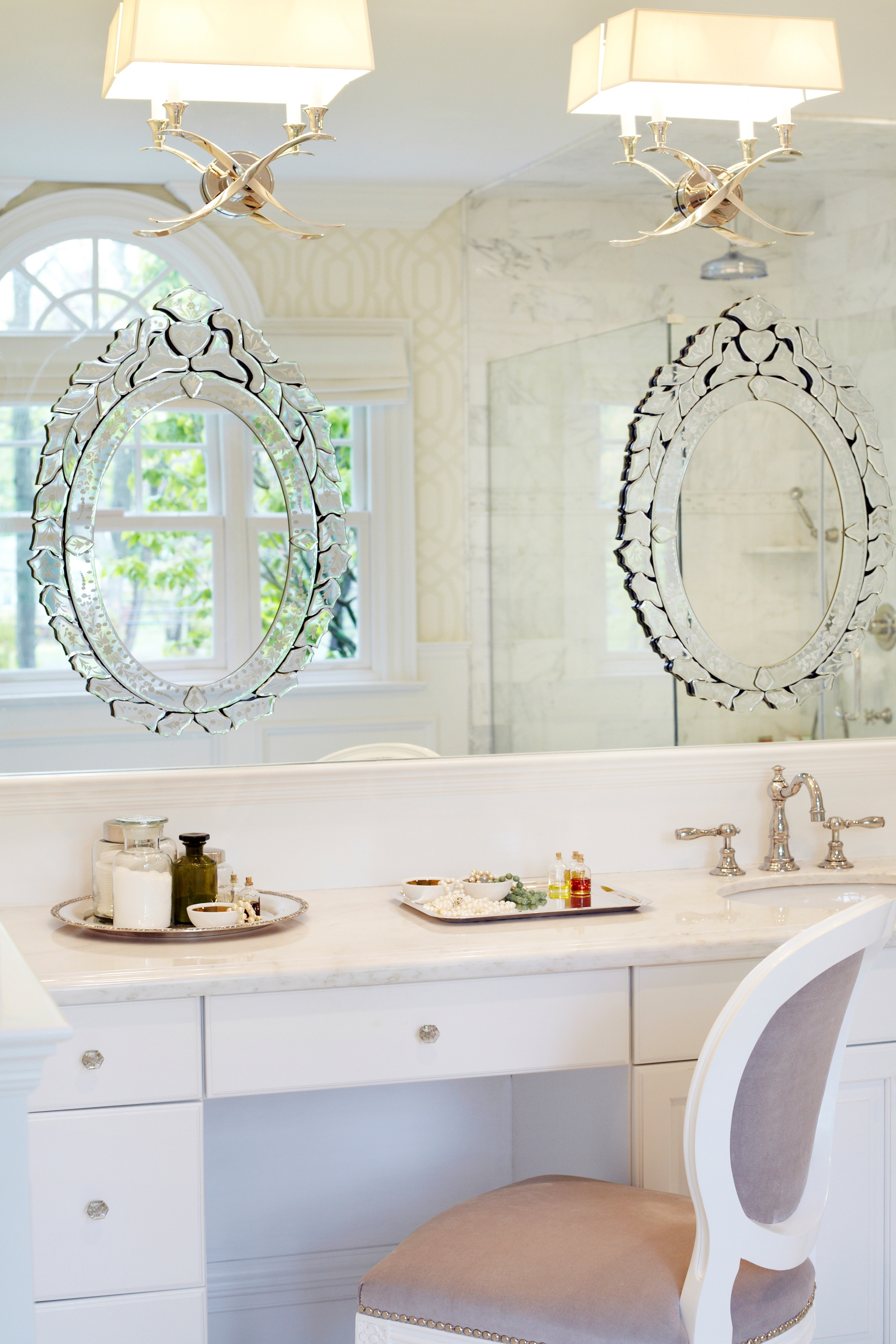 Venetian Mirrors For Bathroom Home With Regard To Venetian Mirror Bathroom (Image 15 of 15)
