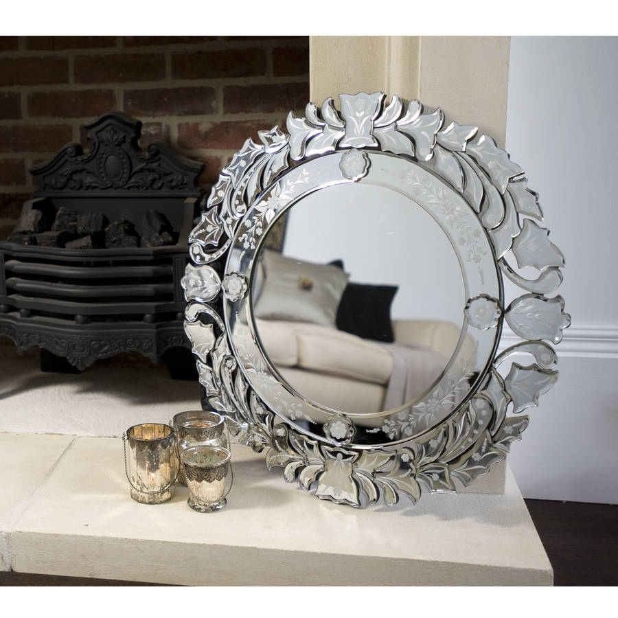 Venetian Mirrors Uk For Round Venetian Mirror (Image 13 of 15)