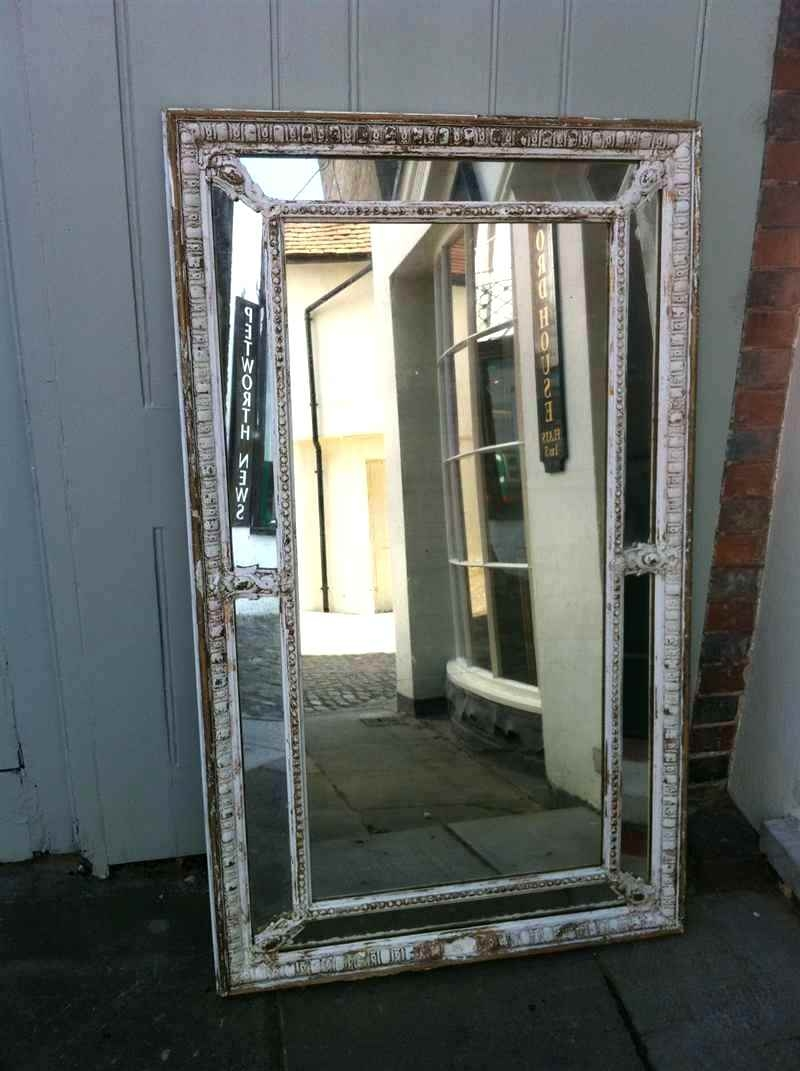 Venetian Style Mirror An Exquisite Large Antique 19th Century In Large French Mirrors (Image 15 of 15)