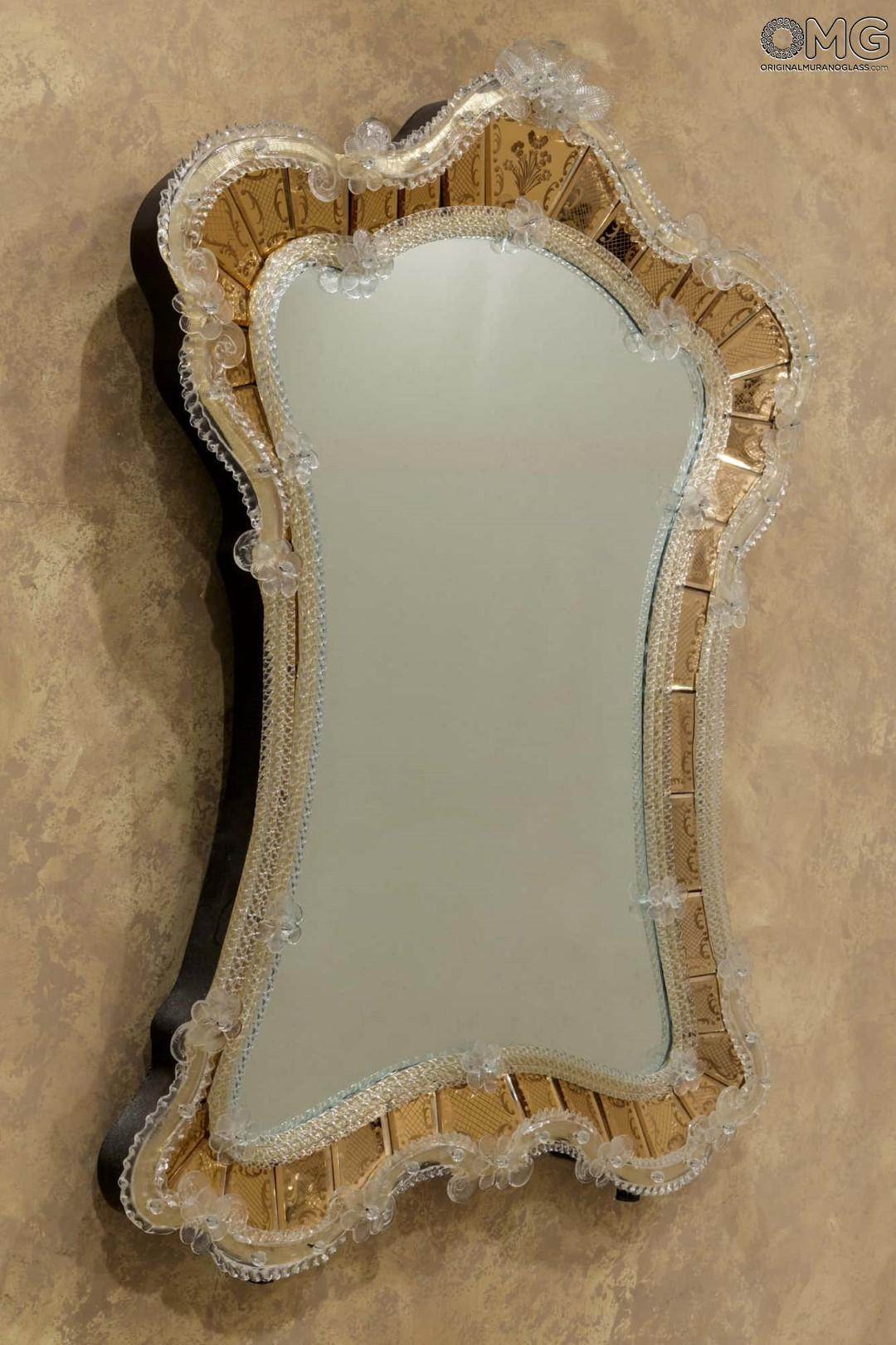 Featured Image of Gold Venetian Mirror
