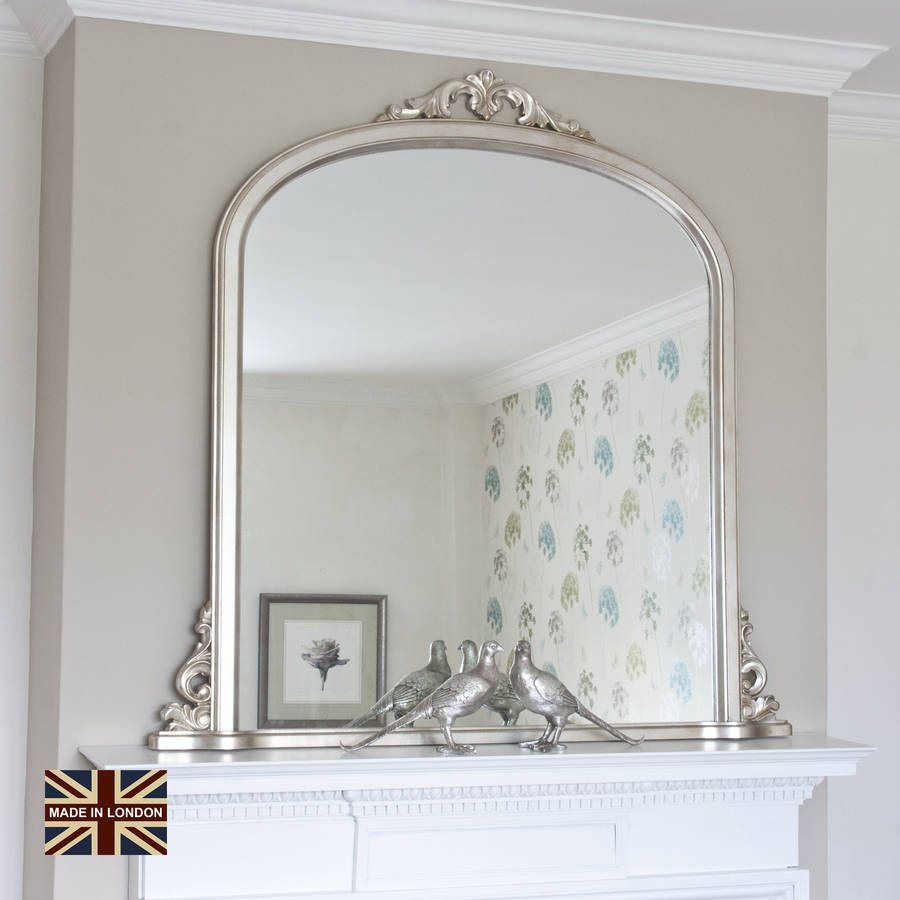 Ver 1 000 Bilder Om Mirrors P Pinterestantikviteter Fransk Och For Overmantel Mirrors (Image 14 of 15)