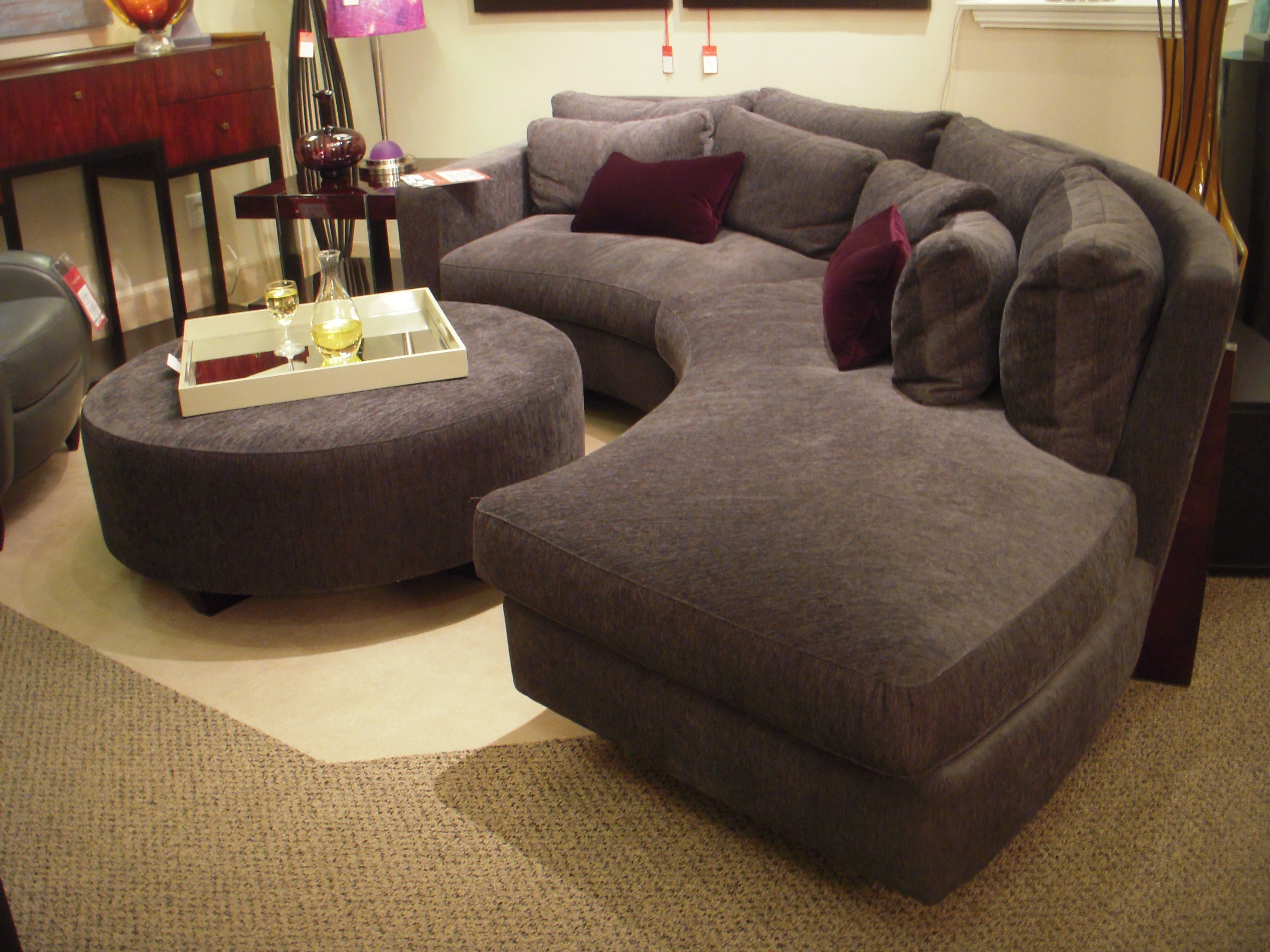 Versatile Ethan Allen Sectional Sofas Sectionals Regarding With Down Filled Sectional Sofas (Image 13 of 15)