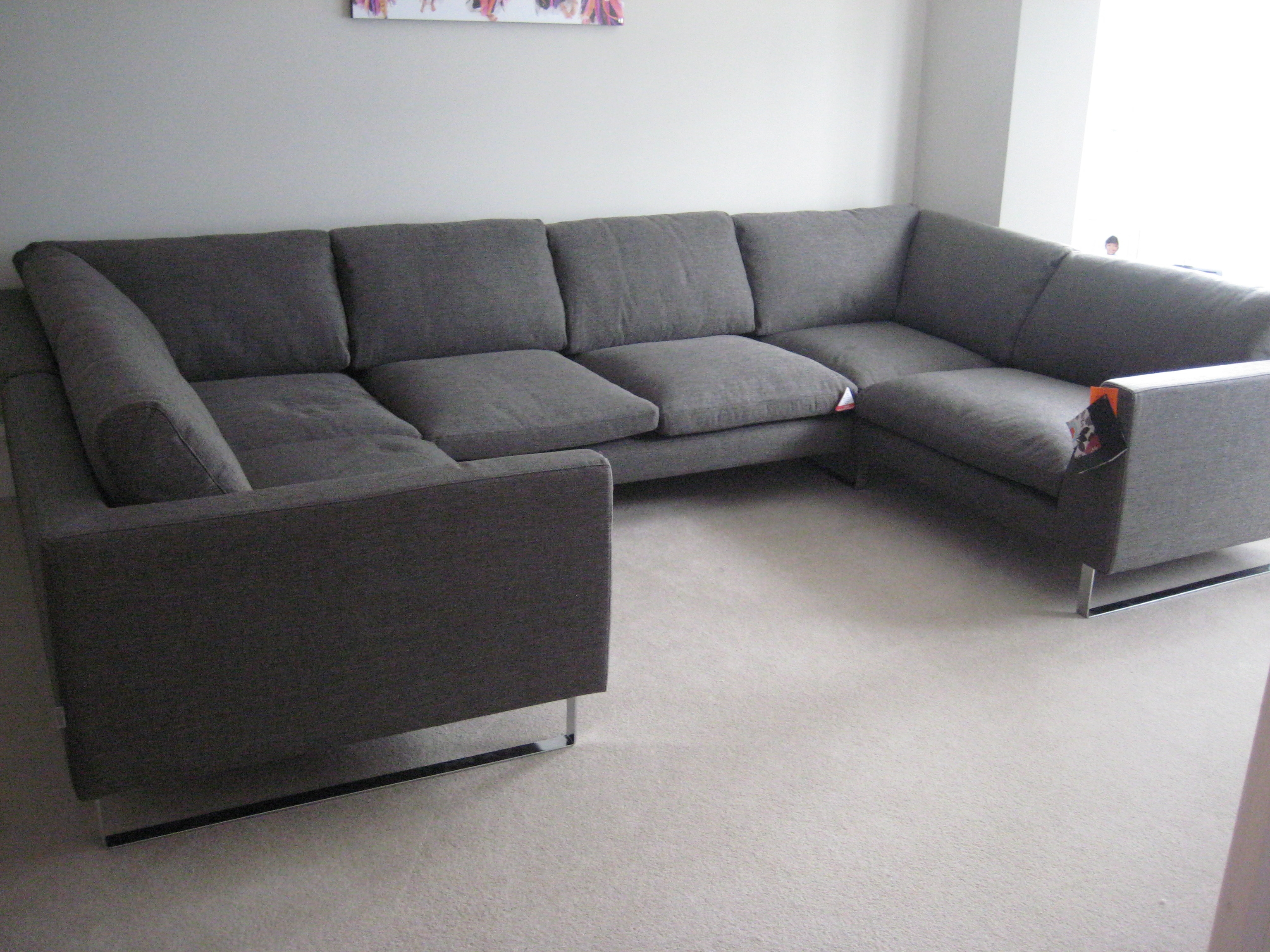 Very Large Hazel U Shaped Combination Units Customer Own Fabric Intended For C Shaped Sofas (Image 15 of 15)