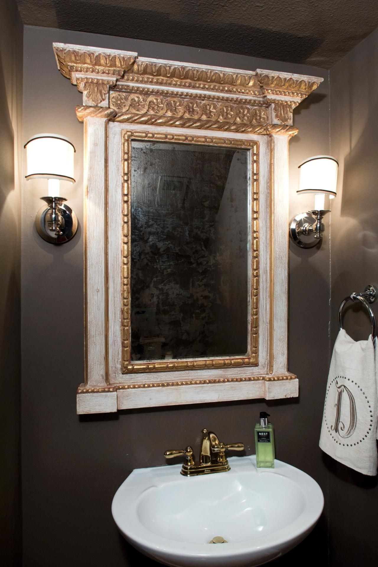 Victorian Style Bathroom Mirrors With Regard To Victorian Style Mirrors For Bathrooms (Image 14 of 15)