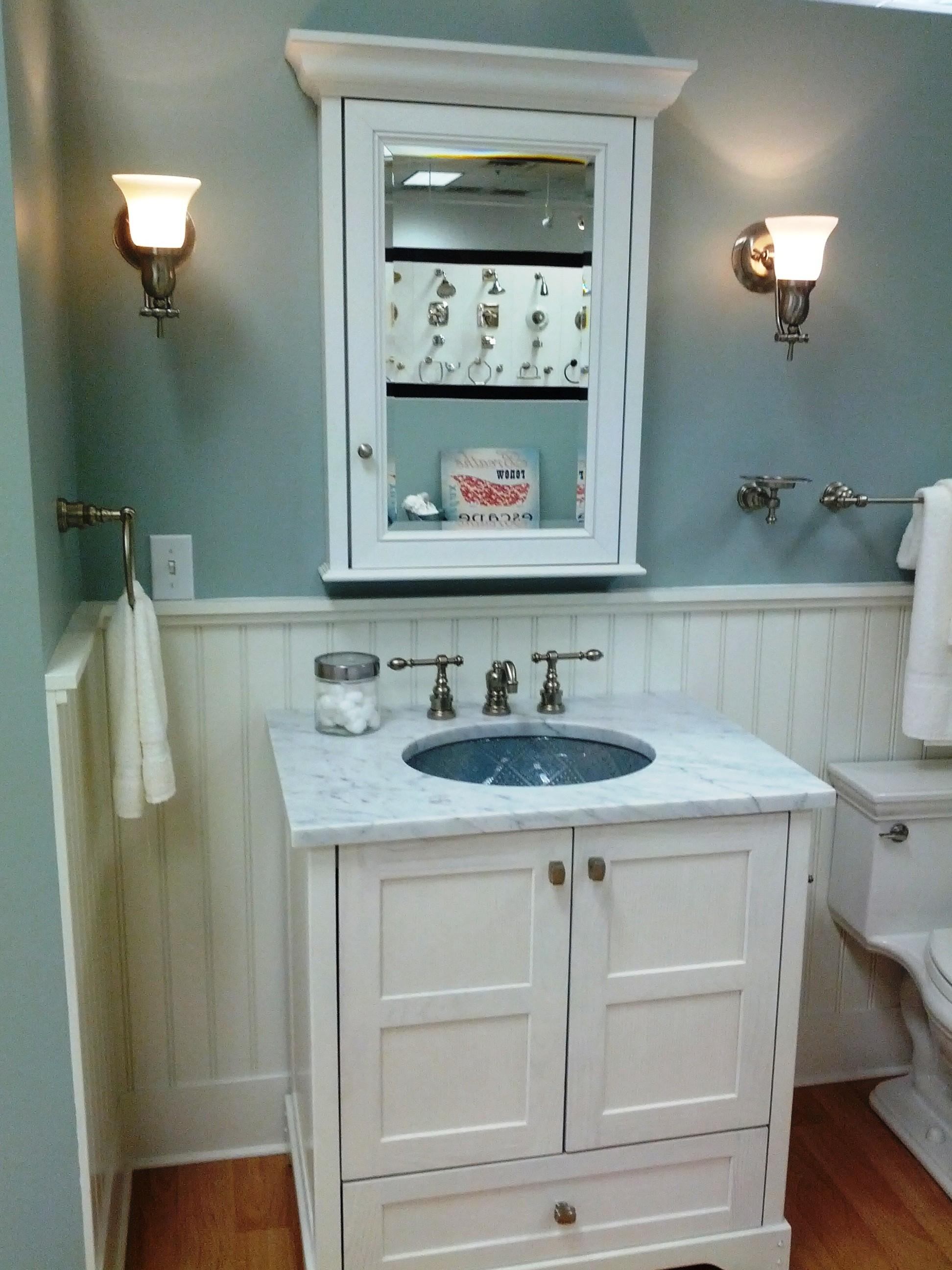 Vintage Bathroom Mirror Ideas Creative Bathroom Decoration Pertaining To Vintage Style Bathroom Mirror (Image 10 of 15)