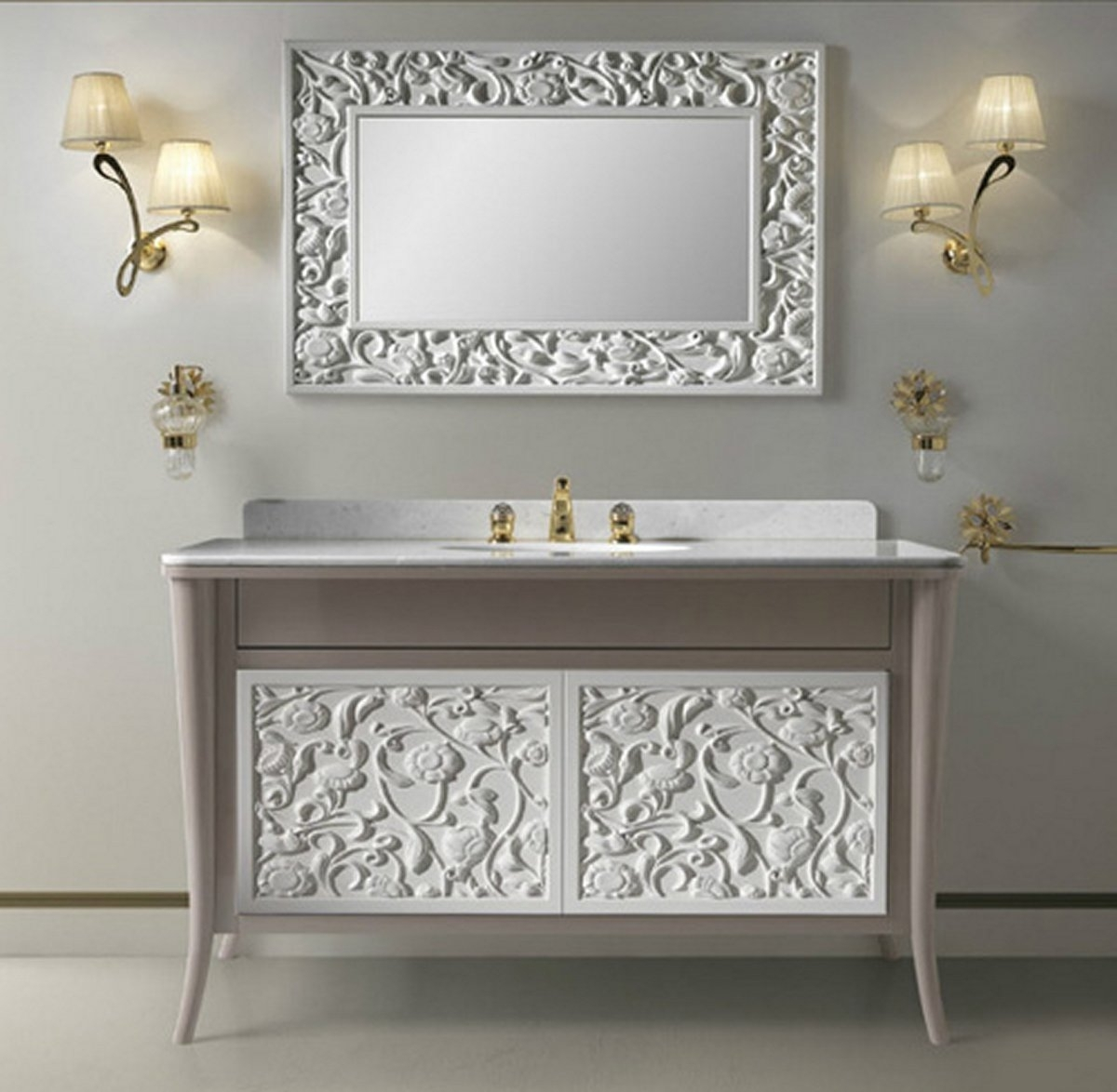 Vintage Bathroom Mirrors Home Decor Vintage Style Bathroom Regarding Vintage Style Bathroom Mirrors (Image 13 of 15)
