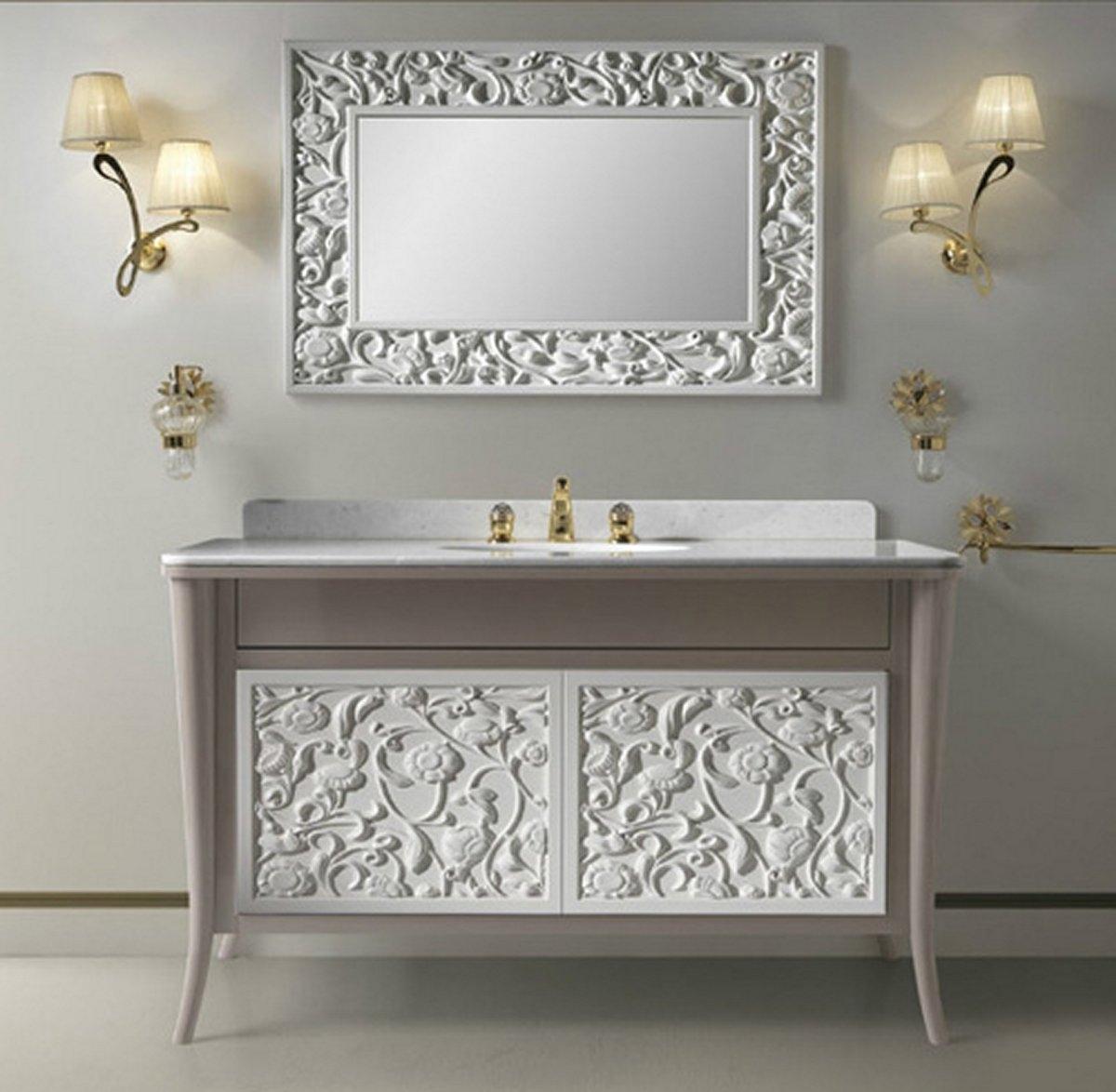 Vintage Bathroom Mirrors Home Decor Vintage Style Bathroom With Vintage Style Bathroom Mirror (Image 13 of 15)