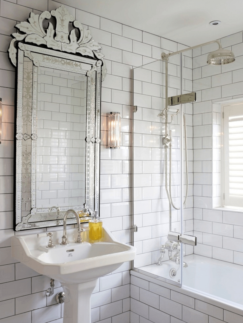 Featured Image of Vintage Mirrors For Bathrooms