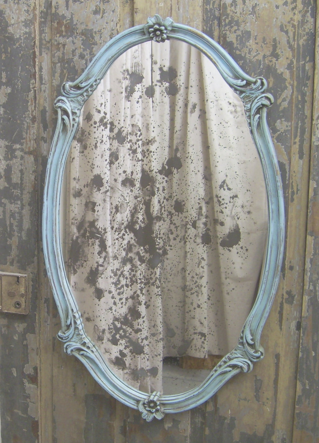 Vintage Beveled Etched Mirrors I Love Collecting These With Regard To Old Looking Mirrors (Image 15 of 15)