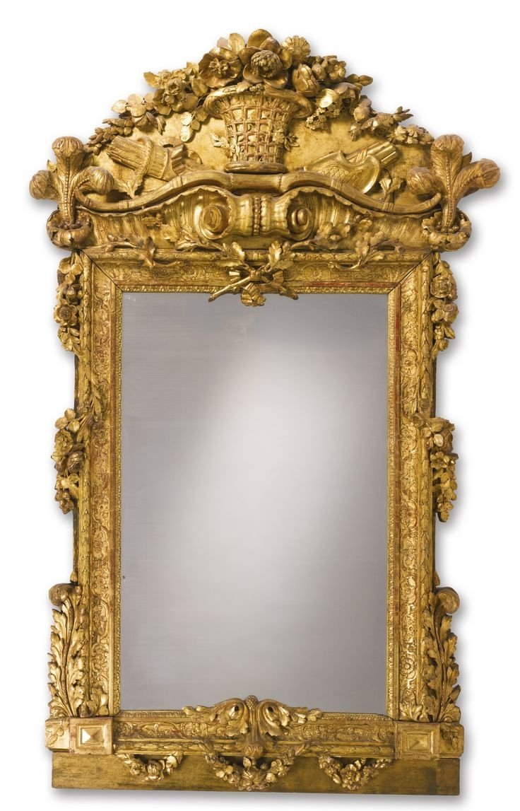 Vintage Brass Floor Mirror Floor Ideas With Regard To Rococo Floor Mirror (Image 15 of 15)