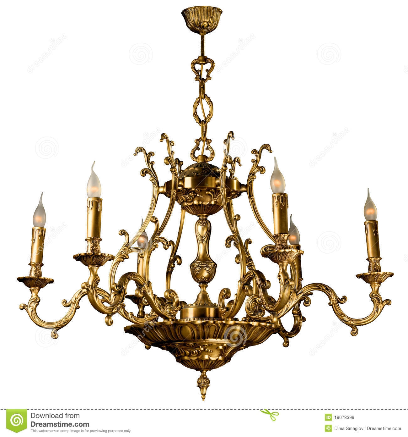 Vintage Chandelier Royalty Free Stock Images Image 19078399 With Regard To Vintage Chandelier (Image 11 of 15)