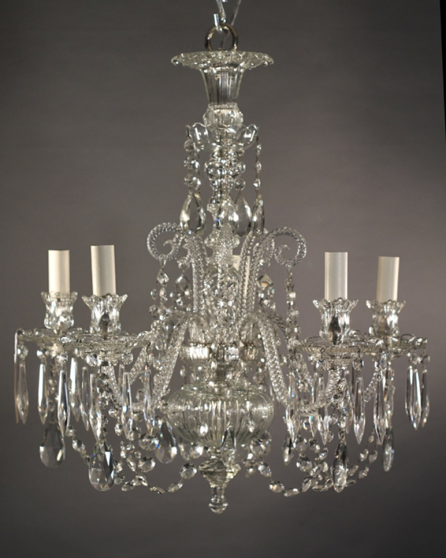 Vintage Chandeliers Crystal Give Classy Look Inspiration Home Throughout Vintage Chandeliers (Image 14 of 15)