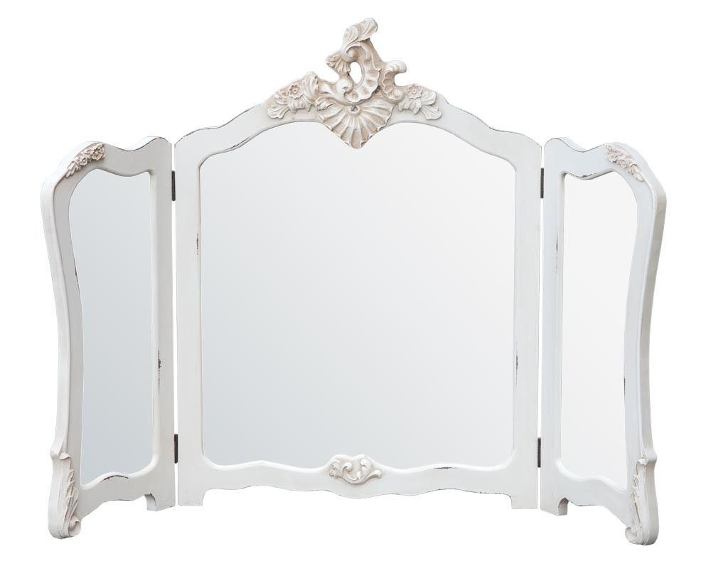 Vintage Dressing Table With Mirror Antique Mirrored Dressing Table Within Ornate Dressing Table Mirror (Image 15 of 15)