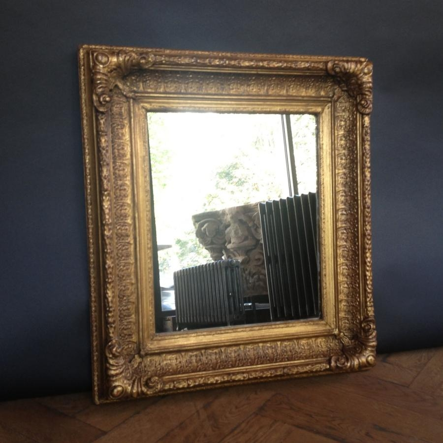 Vintage Gilt Framed Mirror Previously For Sale On Salvoweb Similar Inside Gilt Framed Mirror (Image 14 of 15)