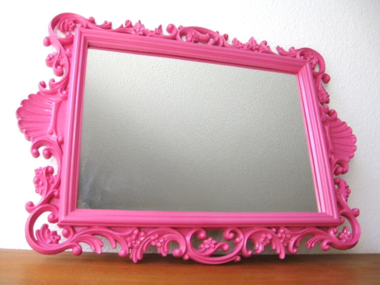 Featured Image of Large Pink Mirror