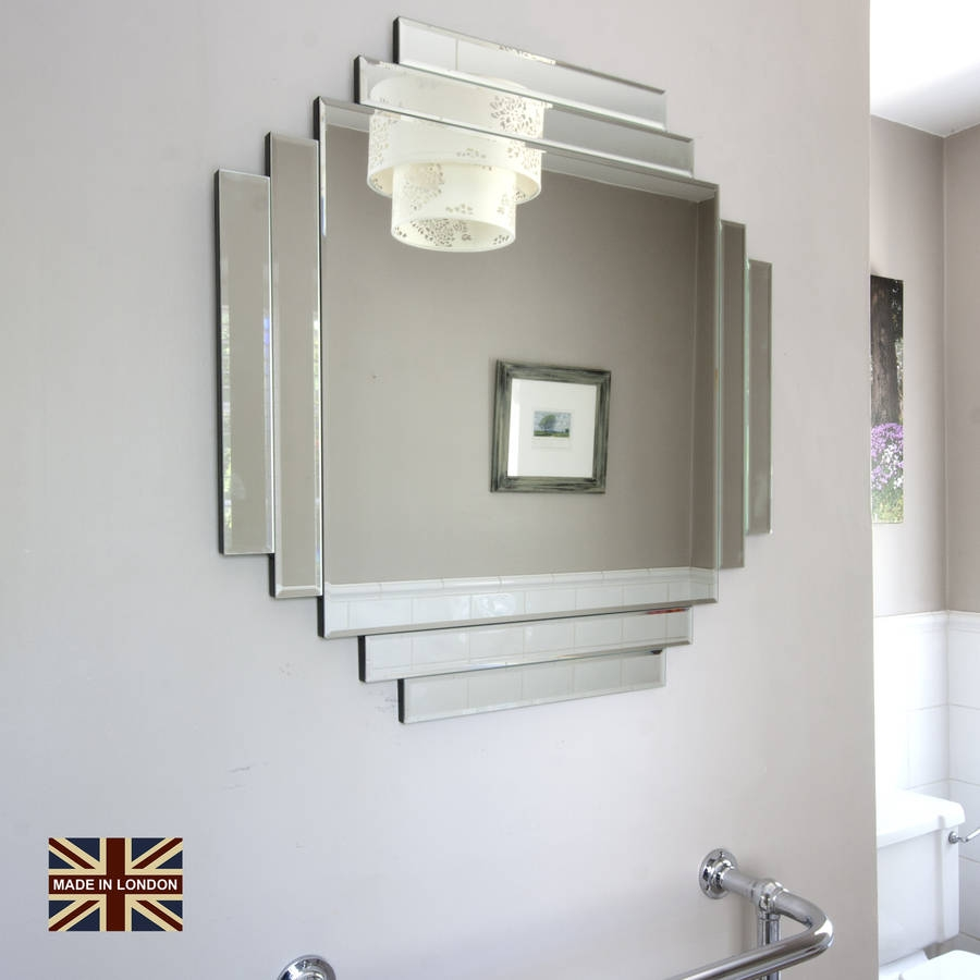 Vintage Style Mirrors Uk With Art Deco Mirrors For Sale (Image 15 of 15)