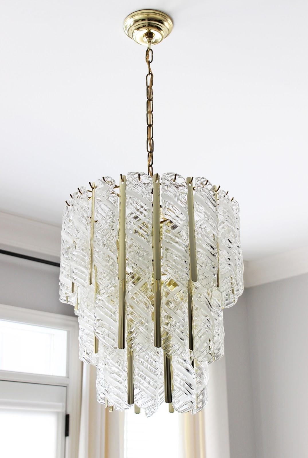 Vintage Venini Murano Glass Chandelier Am Dolce Vita Pinterest Regarding Murano Chandelier Replica (Image 15 of 15)