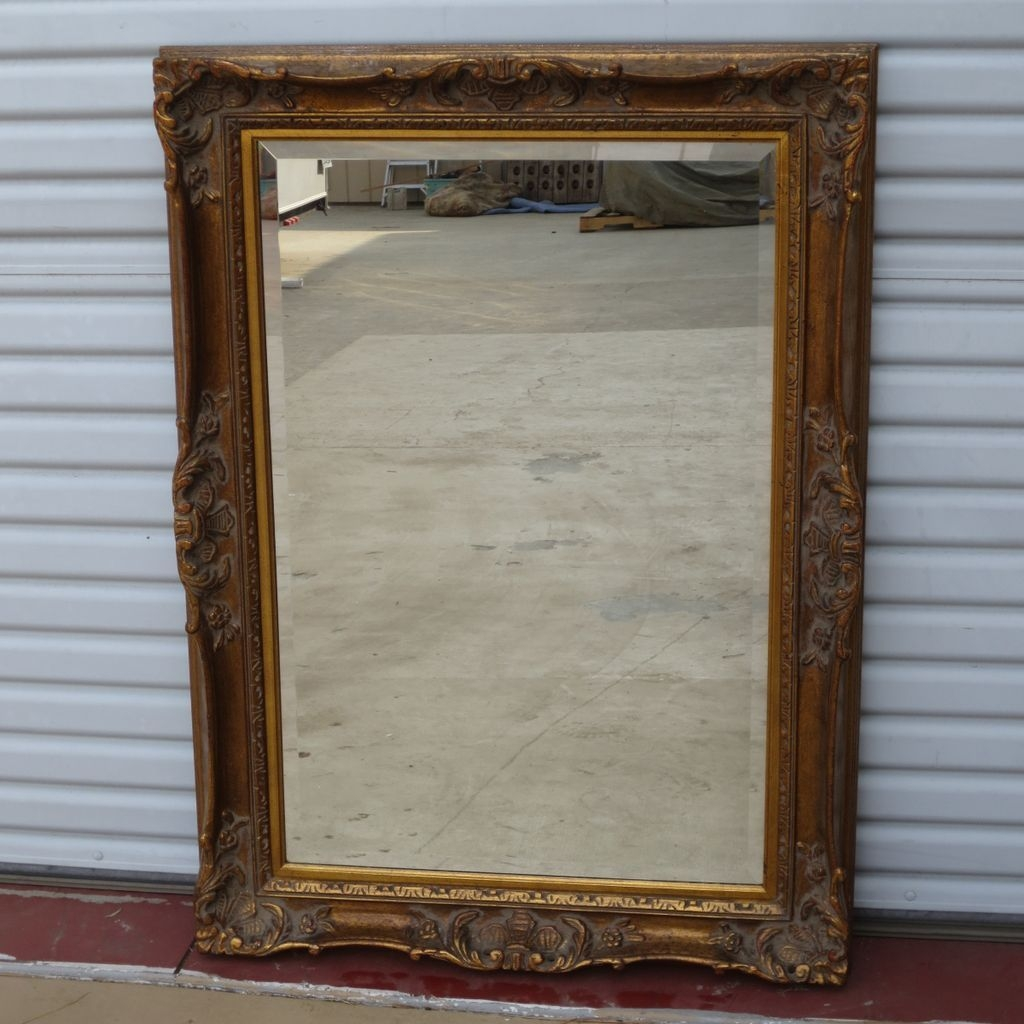 Vintage Wall Mirrors Wall Shelves Pertaining To Old Fashioned Wall Mirrors (Image 14 of 15)