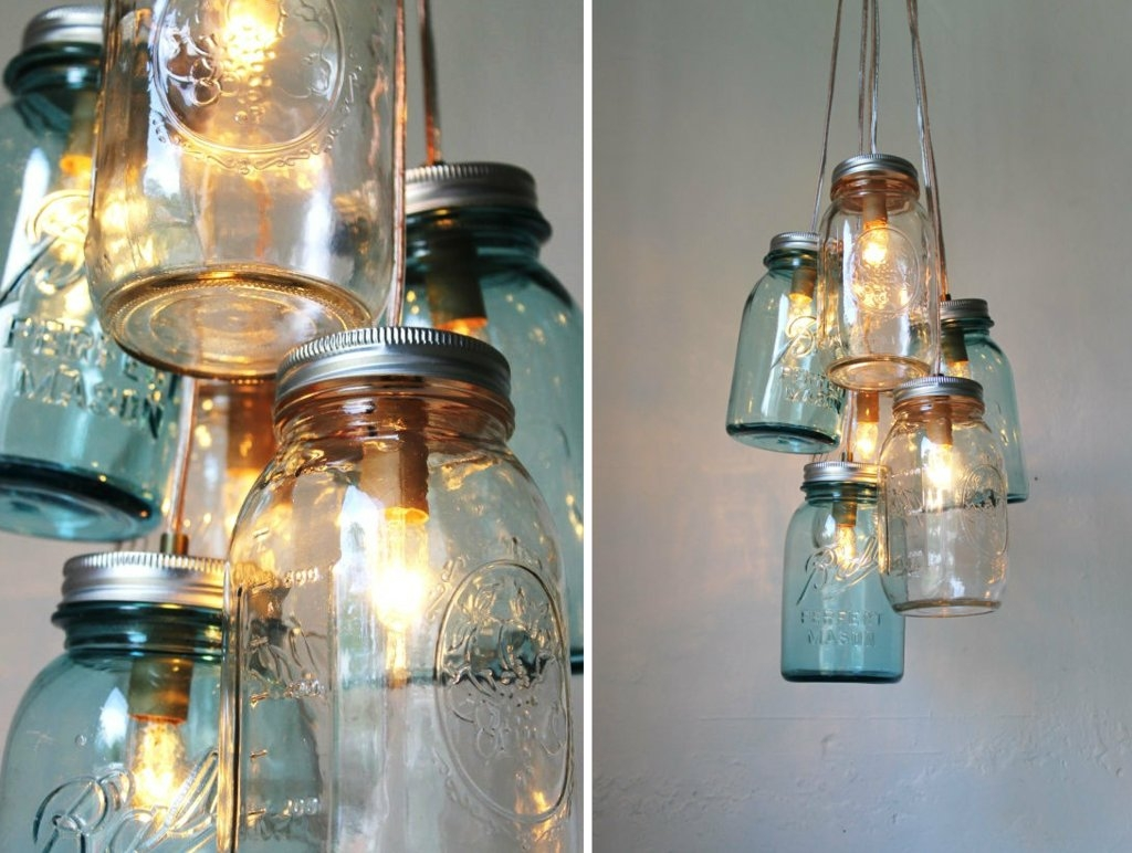 Vintage Wedding Idea For Mason Jar Chandelier Pertaining To Chandeliers Vintage (Image 15 of 15)