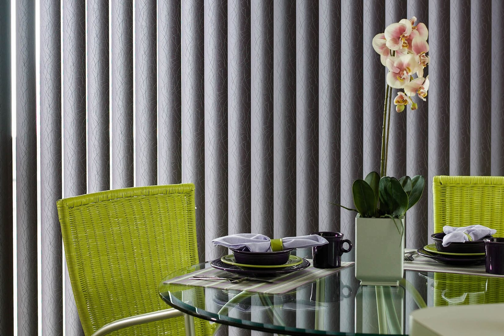 Vinyl Vertical Blinds Custom Made Blinds Blinds To Go Pertaining To Silk Blinds (Image 14 of 15)