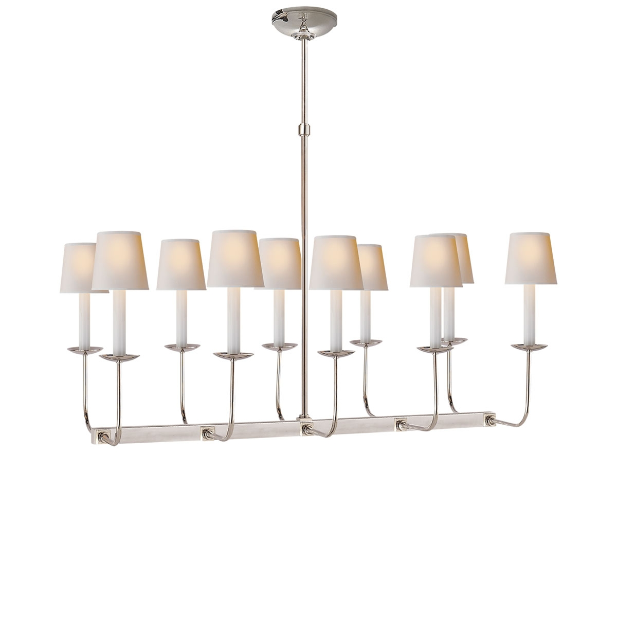 Visual Comfort Linear Branched Chandelier Neenas Lighting For Branched Chandelier (Image 9 of 15)