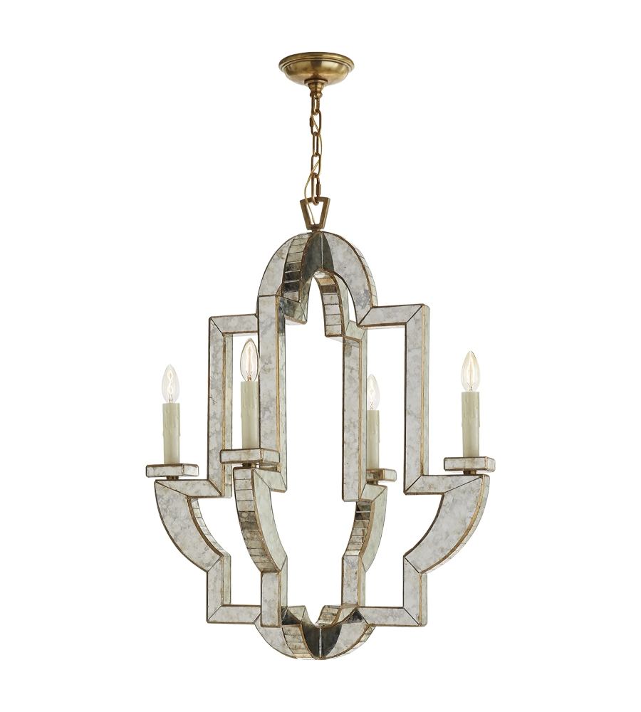 Featured Image of Antique Mirror Chandelier