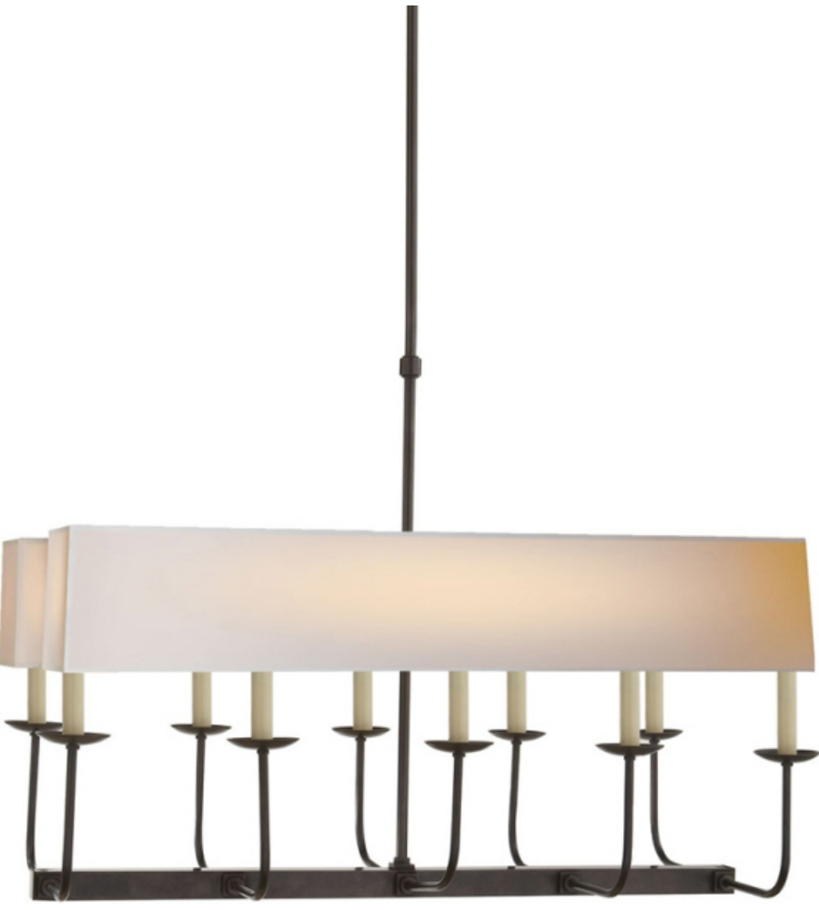 Visual Comfort Sl 5863bz Np2 E F Chapman Modern Linear Branched With Regard To Branched Chandelier (Image 13 of 15)