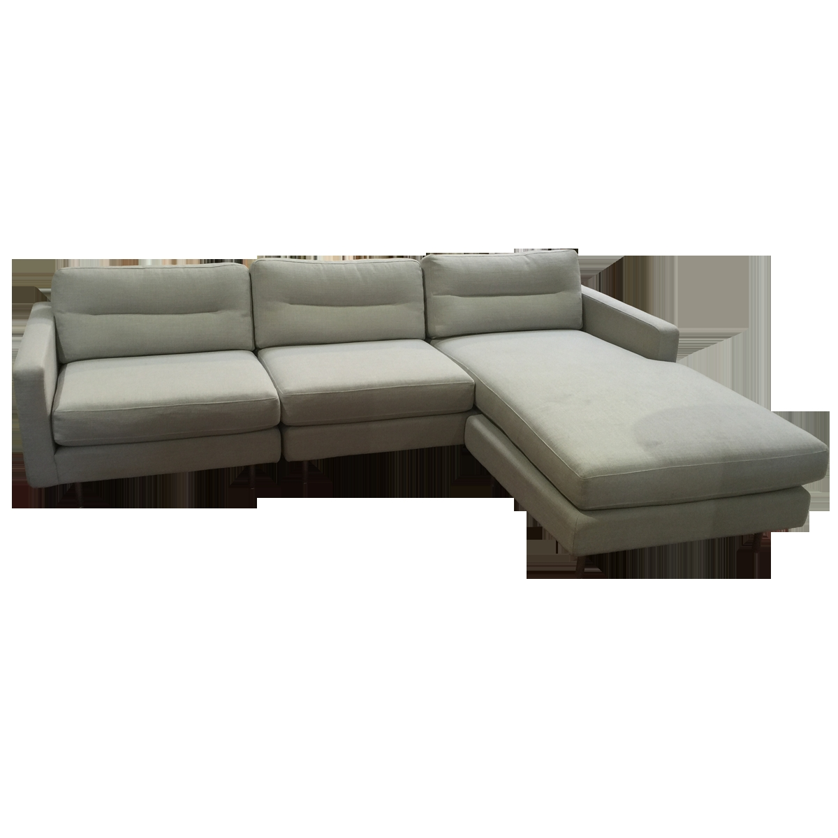 Viyet Designer Furniture Seating Gus Logan Bi Sectional Sofa With Bisectional Sofa (Image 15 of 15)