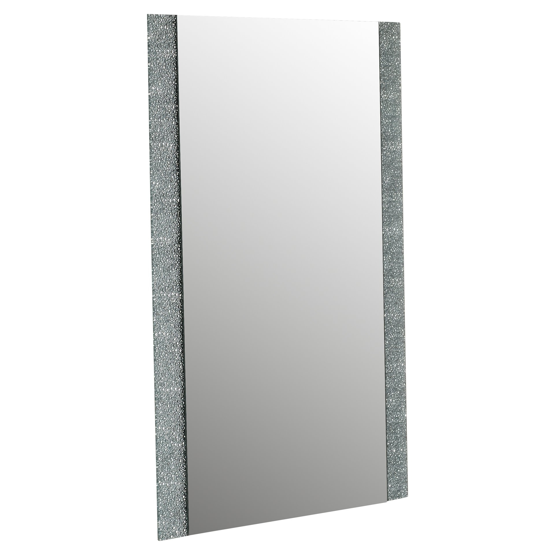 Wade Logan Longwell Green Frameless Wall Mirror Reviews Wayfair With Regard To Frameless Wall Mirror (Image 15 of 15)